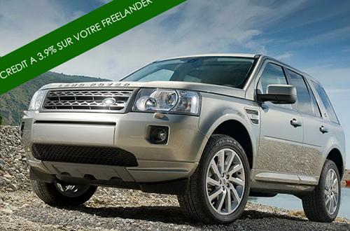 crédit auto land rover freelander