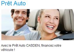 prêt auto casden